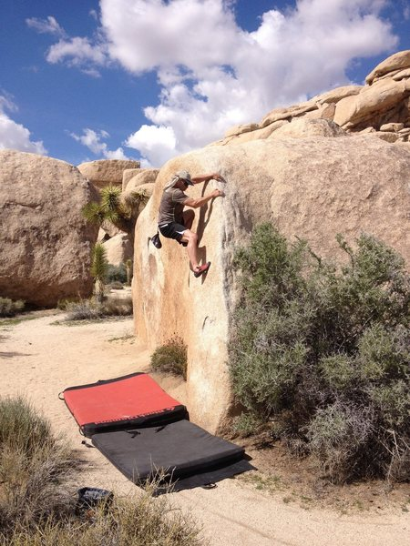 Bouldering with Pete 2015 Turnbuckle Arête - Joshua Tree National Park