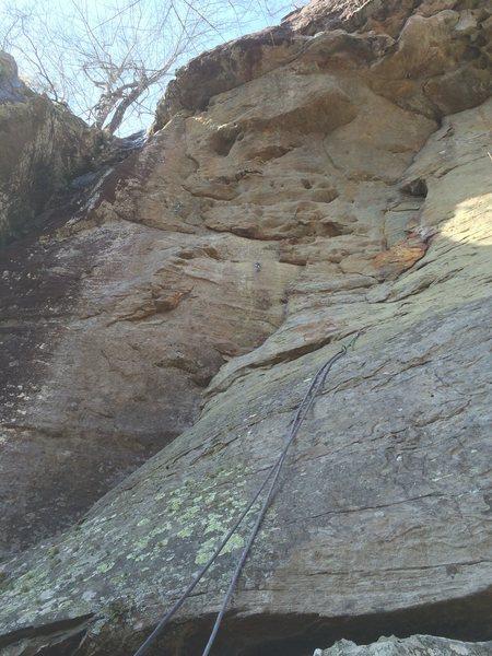 Rock Climbing Photo: Climb!