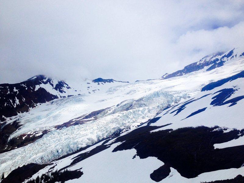 Glacier field on baker