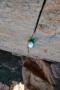 Rock Climbing Photo: Ya, I suppose it's sort of splitter on pitch 3.  P...