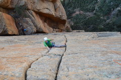 Rock Climbing Photo: This is one heck of a pitch!  Photo by: Nick S.