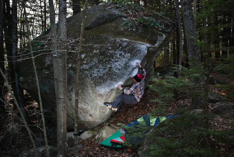 Rock Climbing Photo: Blair woods