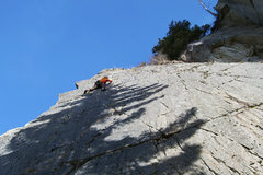 Rock Climbing Photo: Eric leadin k crack