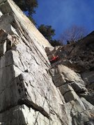 Rock Climbing Photo: Eric forgot his rake...didn't know we'd be gardeni...