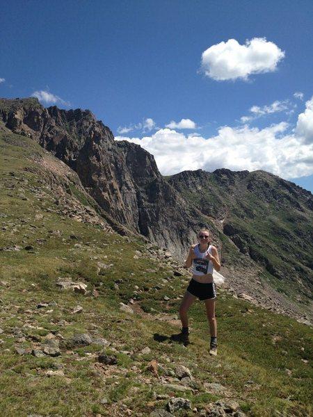Rock Climbing Photo: Devil's Thumb Trail, Colorado.