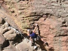 Rock Climbing Photo: 5.12a.