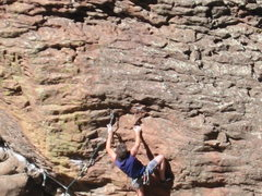 Rock Climbing Photo: Pistol grip.