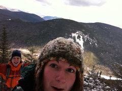 Rock Climbing Photo: White mountains winter hiking NH