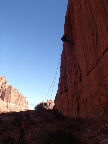 More canyoneering in Arches
