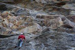 Rock Climbing Photo: Patrick Casper on Underdog, March 25th 2015
