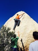 Rock Climbing Photo: Nothing special.  Short n decent slabby warm up pr...