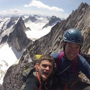 Rock Climbing Photo: summit bugaboo spire