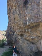 Rock Climbing Photo: Belaying on a 5.12b
