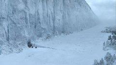 Rock Climbing Photo: Frostfangs beyond The Wall.