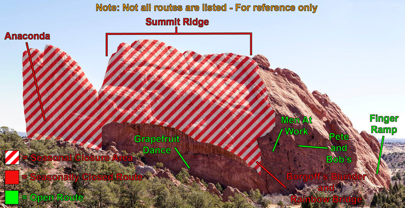Rock Climbing Photo: Image of N Gateway Closures.