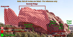 Rock Climbing Photo: Image of N Gateway Closures.