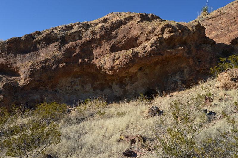 Rock Climbing Photo: Fire Pit