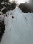 """Rock Climbing Photo: The top pitch in glorious fatness.  Top of """"W..."""
