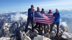 Rock Climbing Photo: Paradox Sports Grand Teton summit