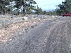 Rock Climbing Photo: Parking spot.