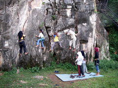 Rock Climbing Photo: Rock On Ladies