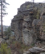 Rock Climbing Photo: The Hideaway from the North.