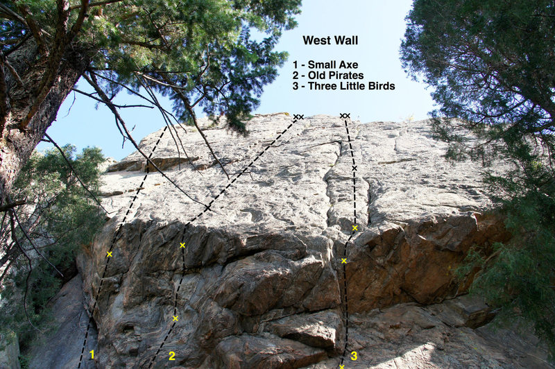 West Wall topo photo.