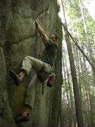 "Rock Climbing Photo: winter enjoying the ""positively powerful&quot..."