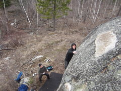 Rock Climbing Photo: great bouldering in the select cut logging unit be...