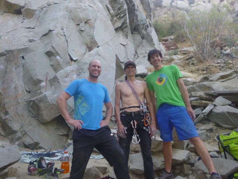 Alex Honnold At Tick Rock.