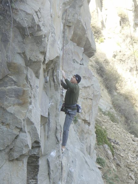 Rock Climbing Photo: Scott Cosgrove At Tick Rock