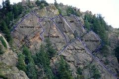 Rock Climbing Photo: Upper Tier overview.