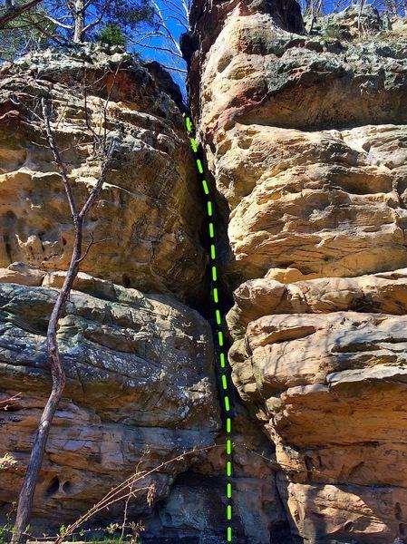 Rock Climbing Photo: Jacks Crack