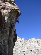 Rock Climbing Photo: Taking a lap
