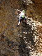 Rock Climbing Photo: Just before the first steep bit on Return of the D...