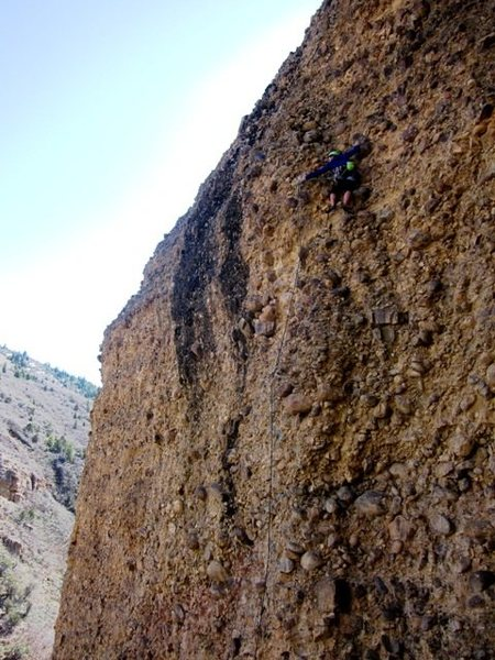 Rock Climbing Photo: Silt in the Saddle Stitching