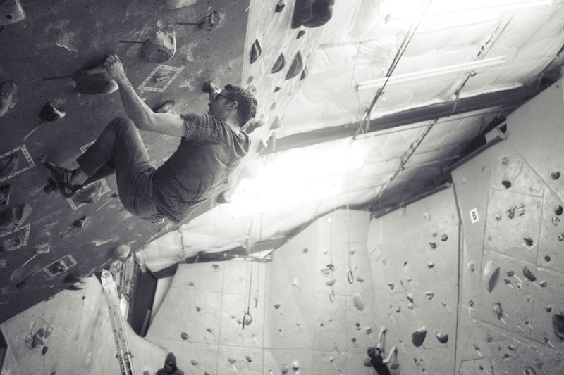 Bouldering at Steepworld
