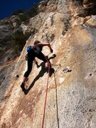 Rock Climbing Photo: Start of Mataillos lugareños