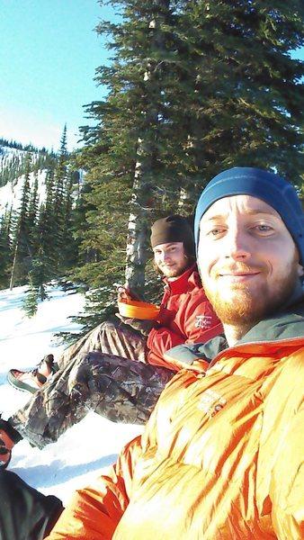 Rock Climbing Photo: Me and the Bro