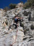 Rock Climbing Photo: La de Seba - fun features.