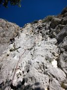 Rock Climbing Photo: La de Seba on the right, the Rib on the left.