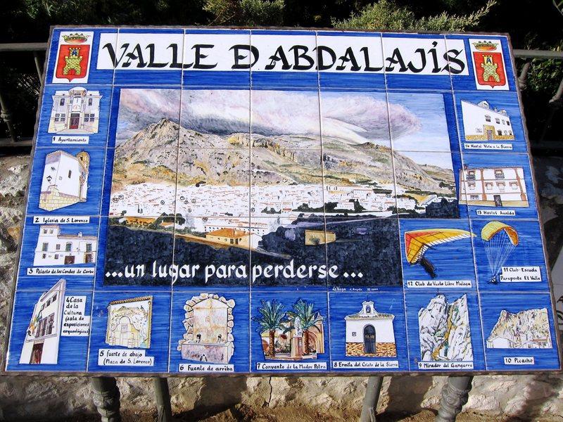 Highlights of Valle de Abdalajis