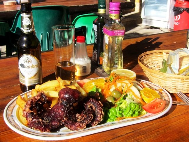 Rock Climbing Photo: Nice lunch at the restaurant past the far end of C...