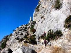 Rock Climbing Photo: Escalera Arabe