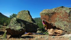Rock Climbing Photo: Not the best angle, but this is the start beta for...