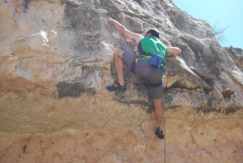 Rock Climbing Photo: Pulling pockets…