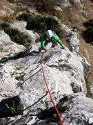 Rock Climbing Photo: Gettin' started on El Pilarito
