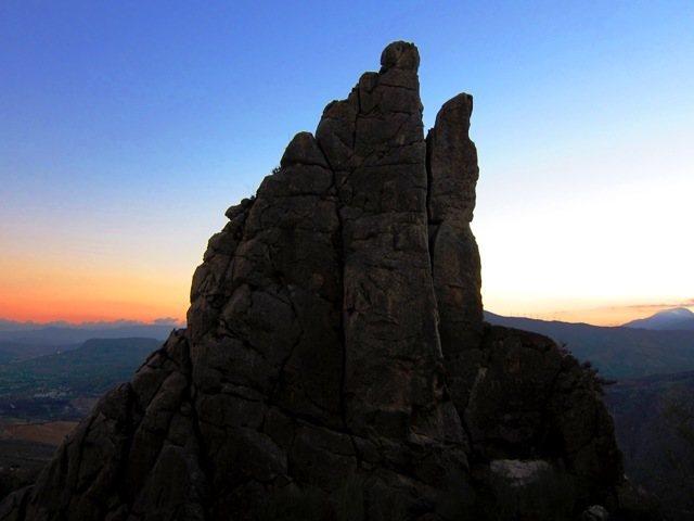 Rock Climbing Photo: Dusk on el Pilarito