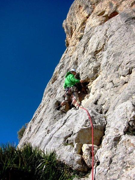 Rock Climbing Photo: Start of Filou