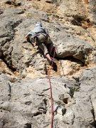 Rock Climbing Photo: Starting Lucky no com pan